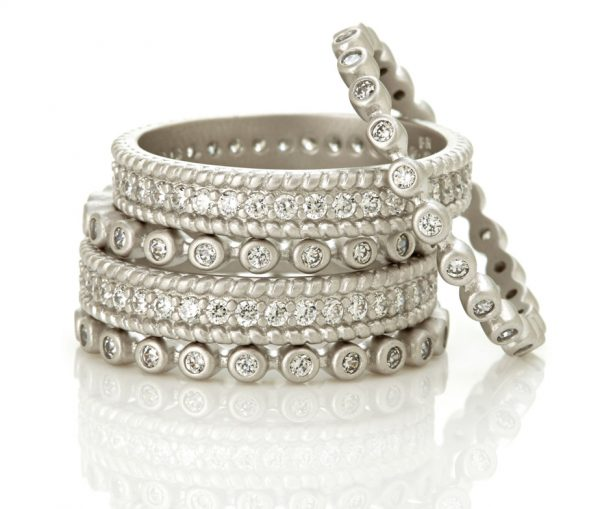 , Freida Rothman – Classic Set of 5 Rings – Size 6