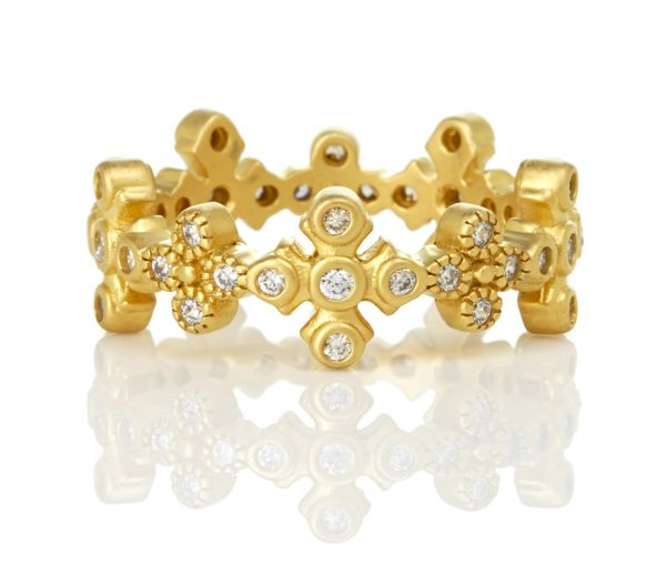 , Freida Rothman – Maltese Eternity Stack Ring