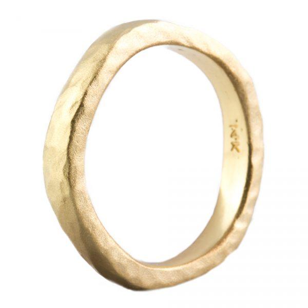 , Wavy Ring Hammer and Satin Finish