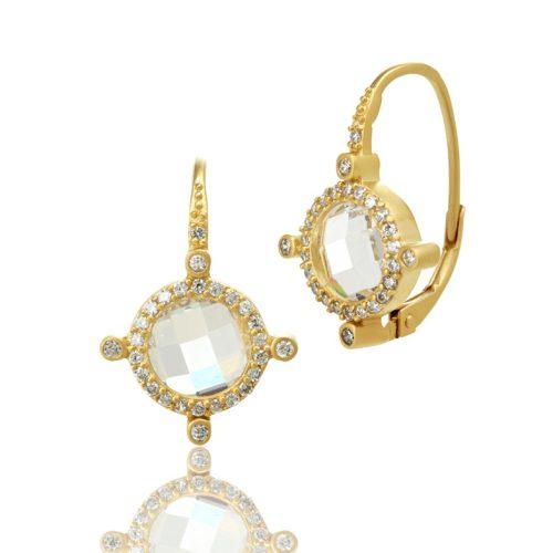 , Freida Rothman – Harlequin Turquoise Pendant Necklace