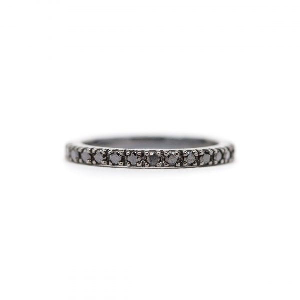 , Black Diamond Eternity Band