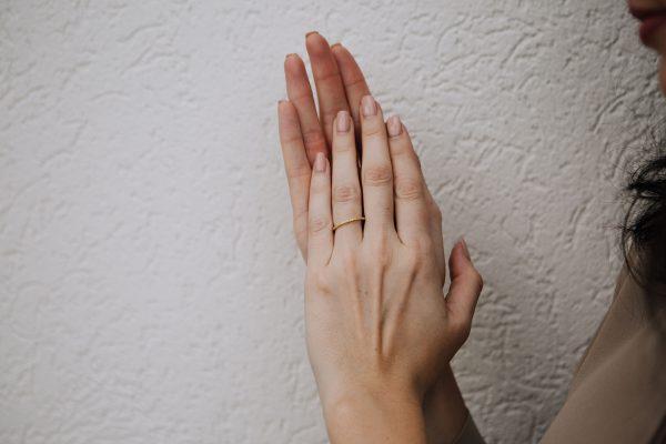 , Yellow diamond eternity band size 5.5