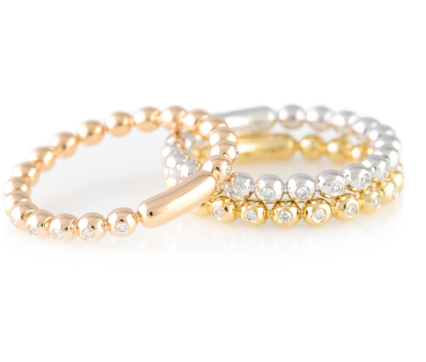 miriams jewelry diamond eternity band 18k yellow gold. Black Bedroom Furniture Sets. Home Design Ideas
