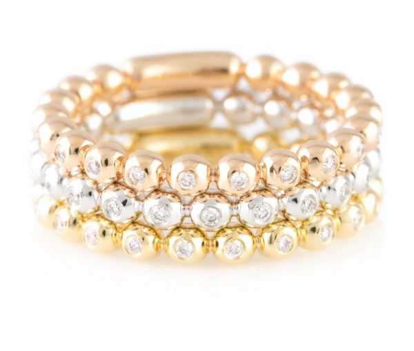 Diamond Eternity Band, Diamond Eternity Band 18K Yellow Gold