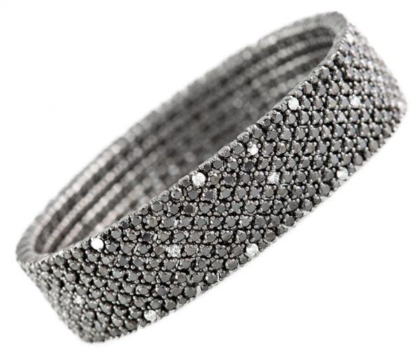 , Black Diamond Bracelet