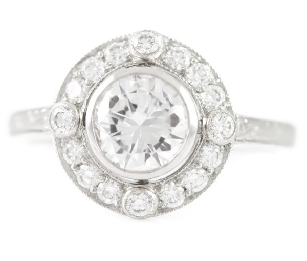 , Diamond Engagement Ring in Platinum