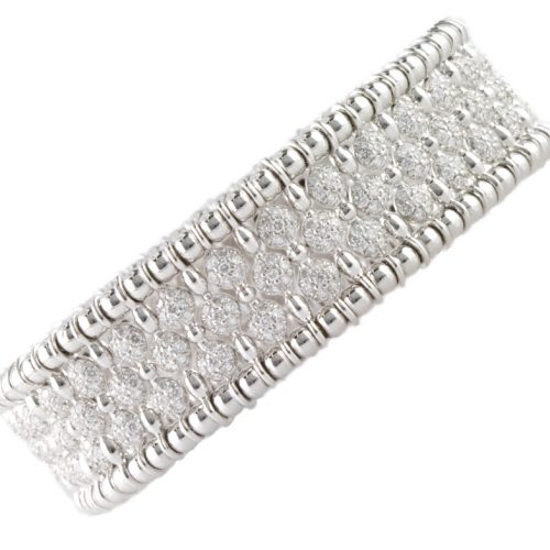 , 5.07ct Diamond Bracelet 18K Yellow Gold