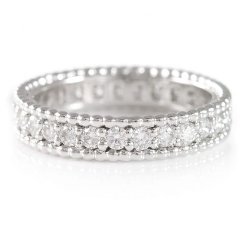 , 1.19 Carat Eternity Diamond Band 18K