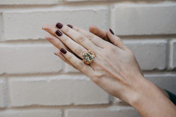 , Dior Aqua Marine Ring