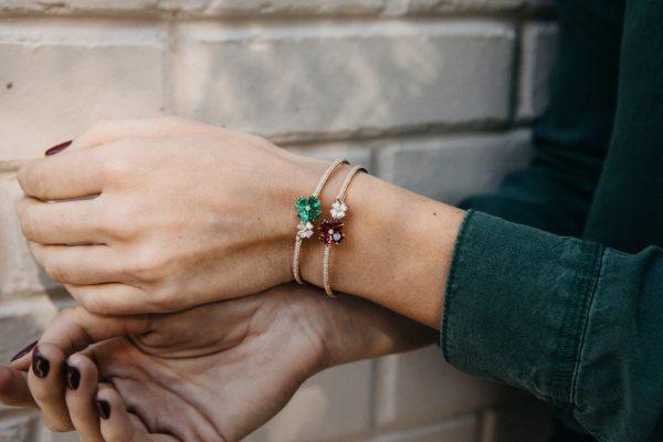 , Chopard Signed Estate Diamond & Ruby Bracelet
