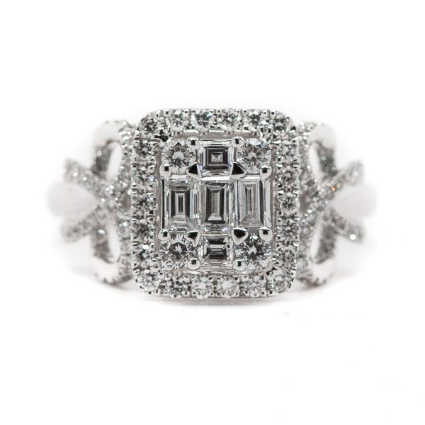 , Diamond Engagement Ring