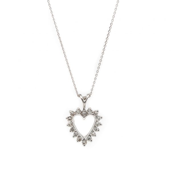 , Diamond Heart Necklace