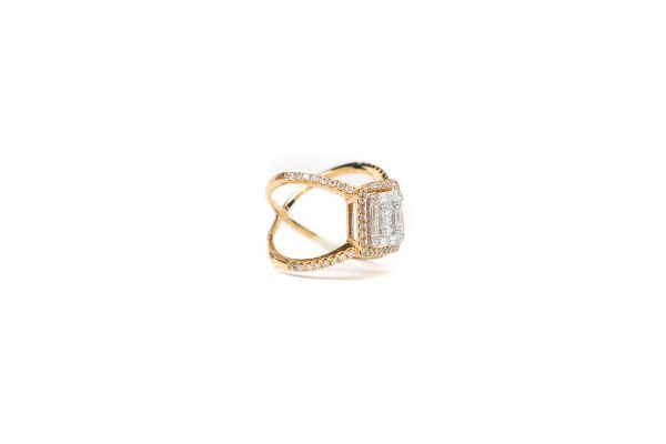 , Diamond Fashion Ring 18KTYG