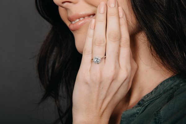 , Blue Topaz Ring by Little Bird Collection Doves