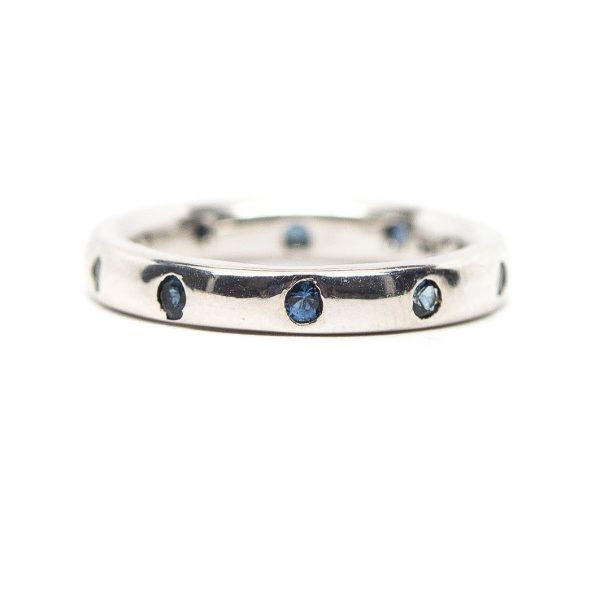, 0.30 CT Sapphire Eternity Band