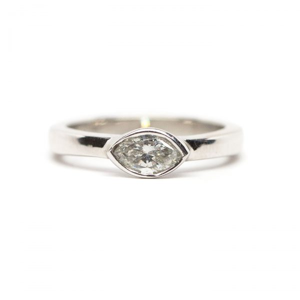 , 0.52 CT Diamond Ring