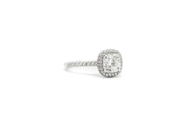 , 1.27 CT Diamond Engagement Ring