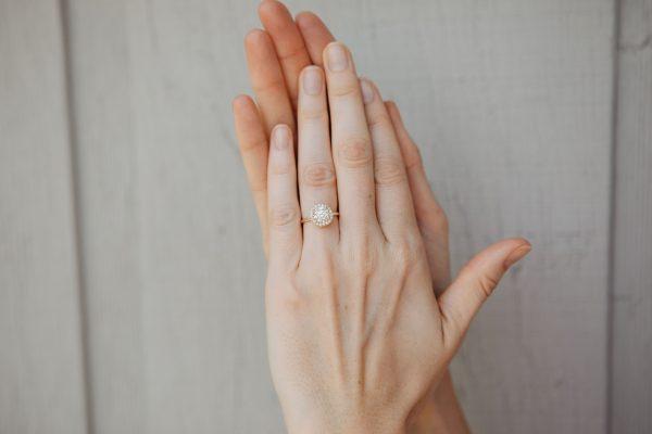 , 1.41 CT RBC Engagement Ring