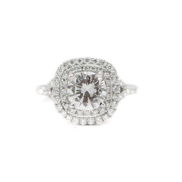 , 1.30 CT RBC Diamond Ring