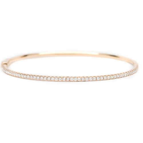 1.44 CTW Rose Gold Bracelet