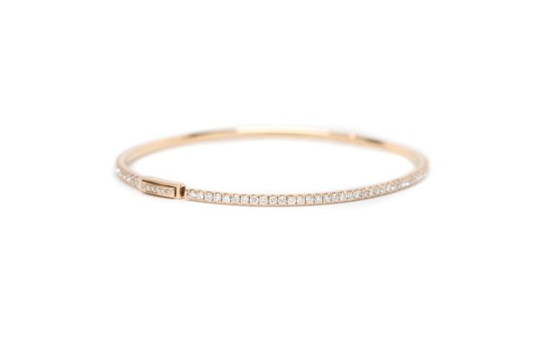 , 1.44 CTW Rose Gold Bracelet