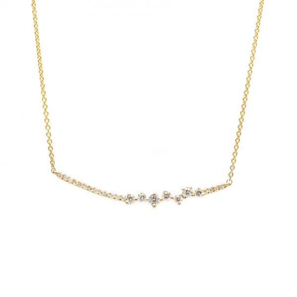 , 0.22 CT Diamond Necklace