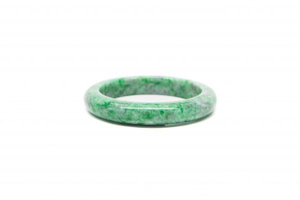 , Green White Natural Jadeite