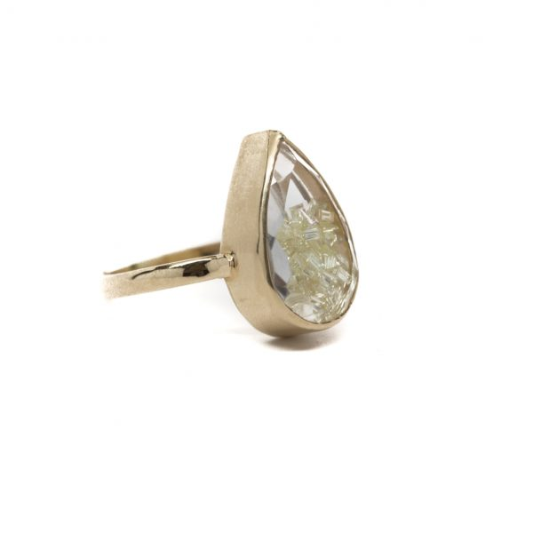 , Diamond Shaker Ring