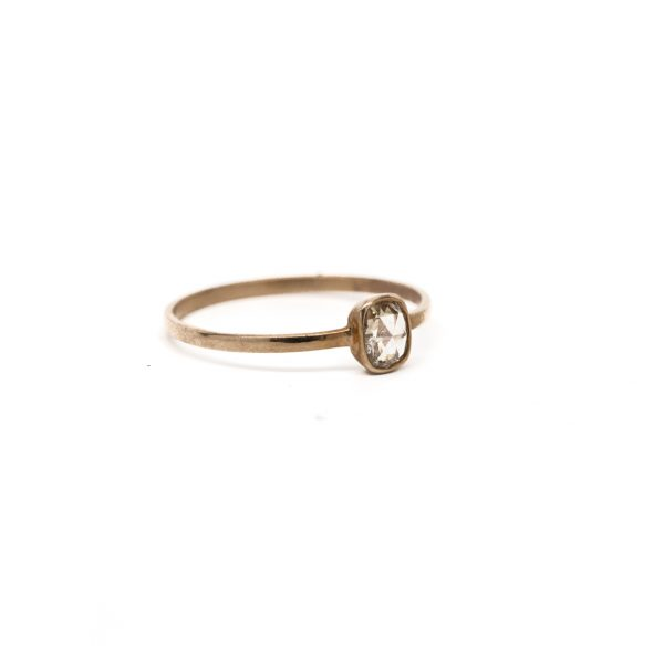 , Rose Cut Diamond Ring