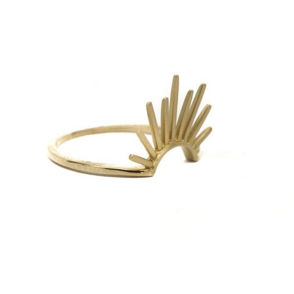 , Doves Burst Ring