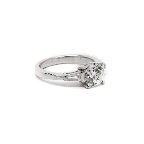 , 1.50 RBC Diamond Engagement Ring