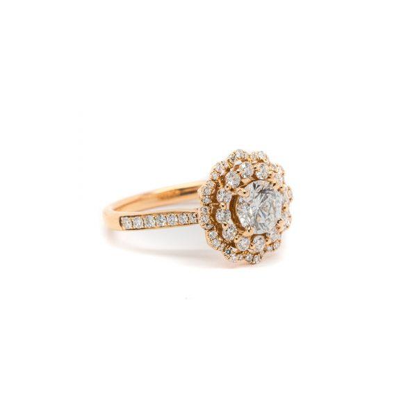 , S. Kashi Flower Ring