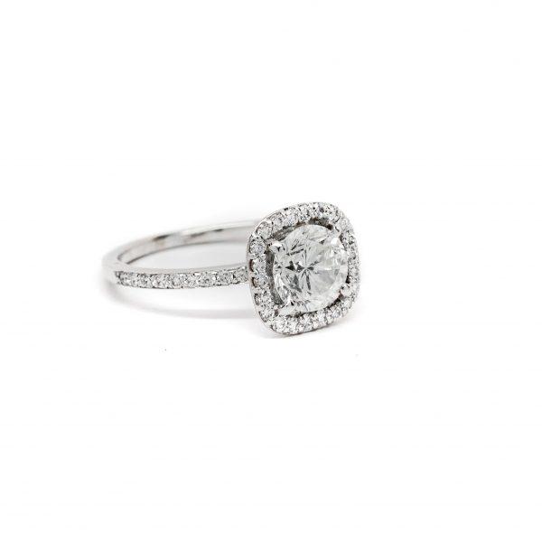 , 1.48 CT Diamond Engagement Ring