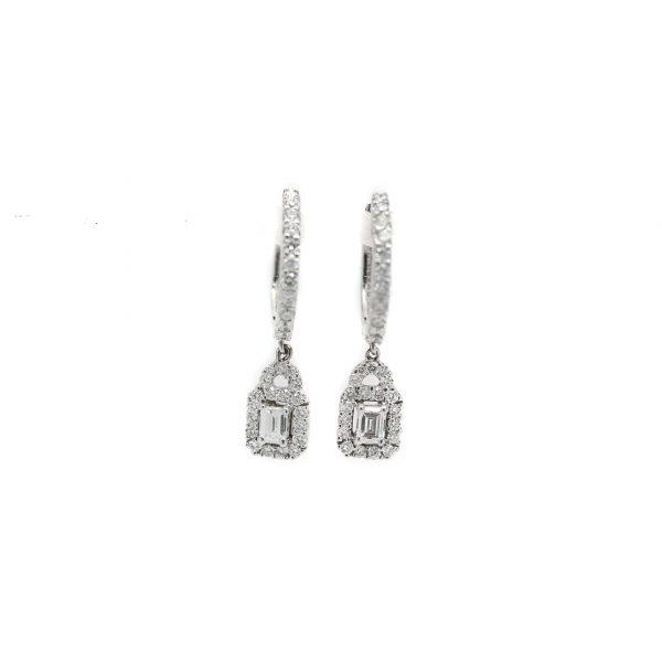 , S. Kashi Diamond Earrings