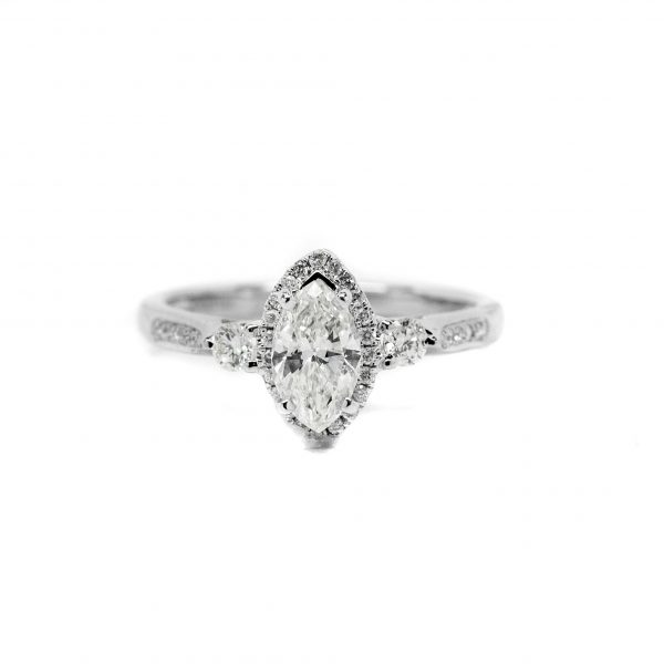 , Marquise Engagement Ring