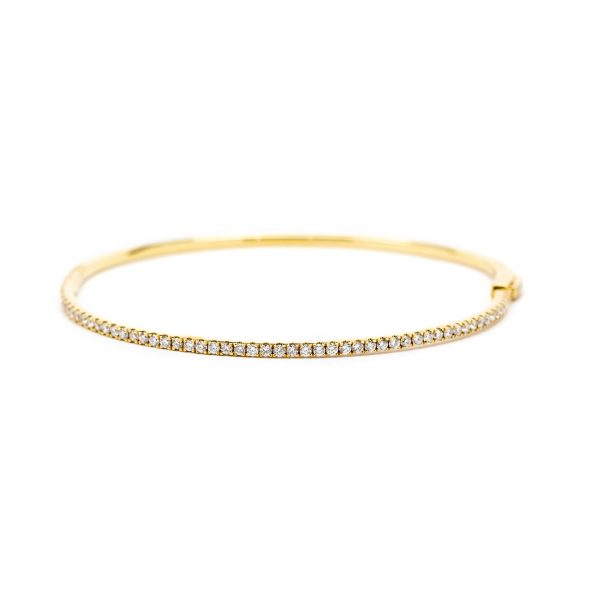 , Yellow Gold Diamond Bracelet