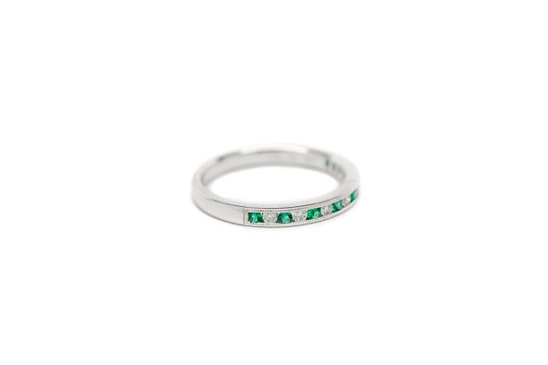 , Emerald + Diamond Band