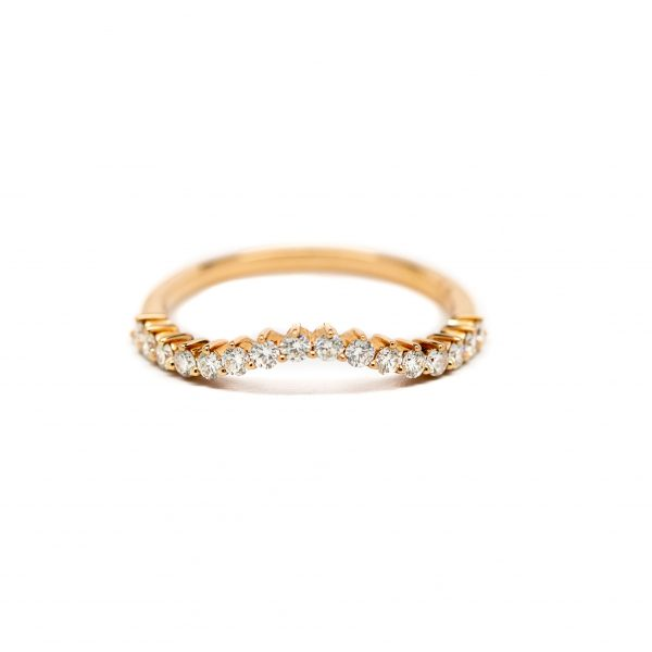 , Doves Curved Band