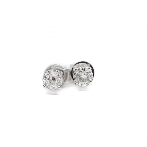 , 2.08 CT Diamond Studs