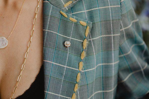 , Antique Diamond Hat Pin