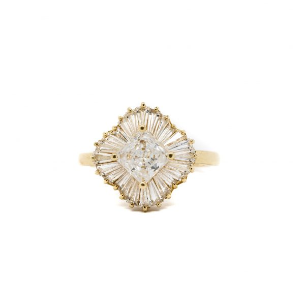 , Ballerina Fashion Ring
