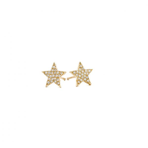 , Diamond Star Studs