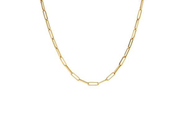 , Yellow Gold Link Chain