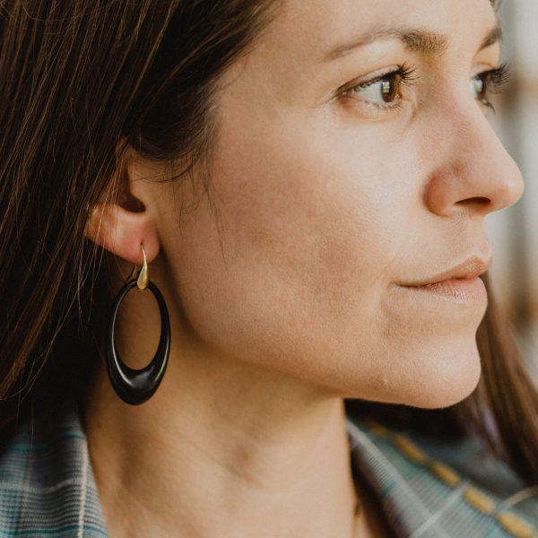 , Ebony Earrings