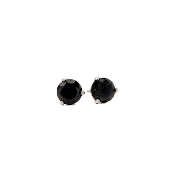 , Black Diamond Studs
