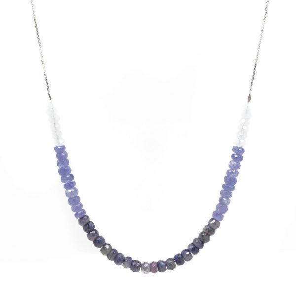 , Ombre Gemstone Necklace