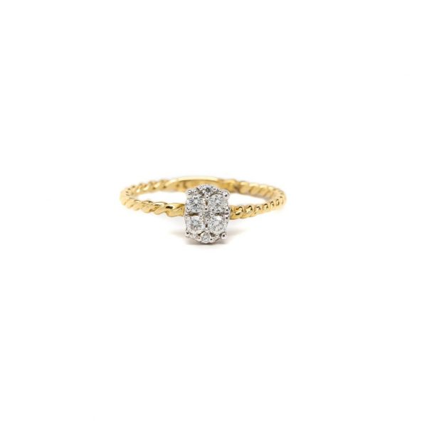 , Rope Stackable Ring