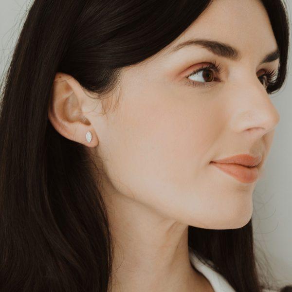 , Diamond Marquis Earrings