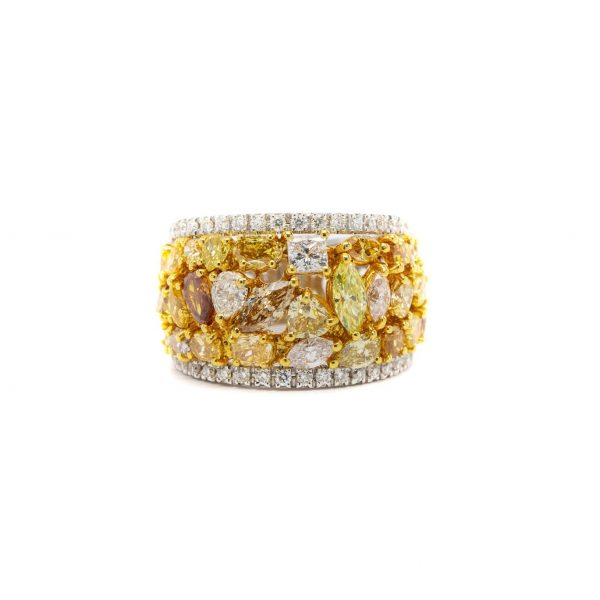 , Fancy Colored Natural Diamond Ring
