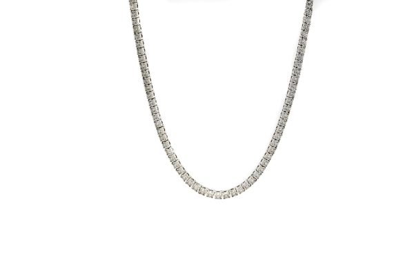 , Diamond Tennis Necklace